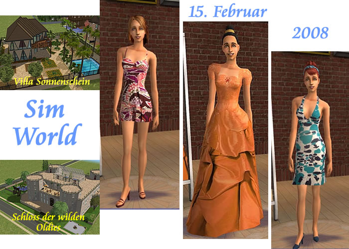 Sims 2 Downloads and Pictures: Houses | Evening gown | Dress adult