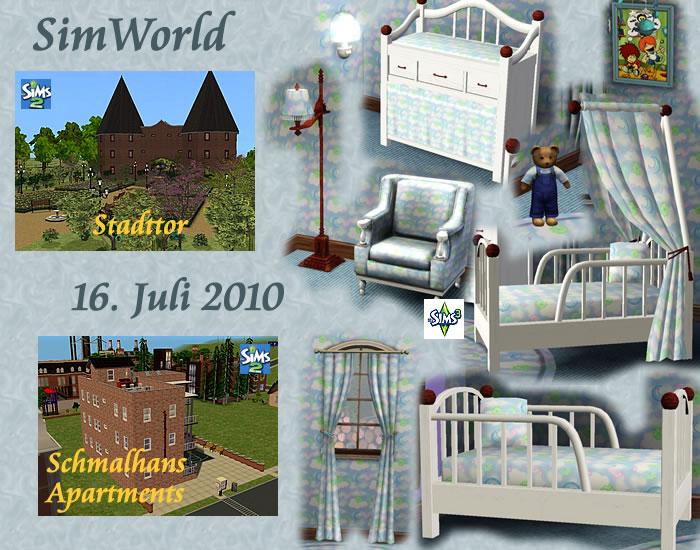 Simworld newsarchiv juli 2010 - Sims 3 babyzimmer ...