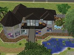 Grundriss villa sims 2  Sims 2 Apartments