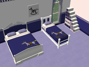 jugendzimmer f r sims 2. Black Bedroom Furniture Sets. Home Design Ideas