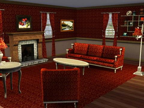 Upload 24 juni 2009 8 teile - Sims 3 wohnzimmer modern ...