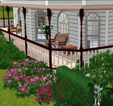 Sims 3 downloads objekte und meshes von magicdawn for Kinderzimmer zaun