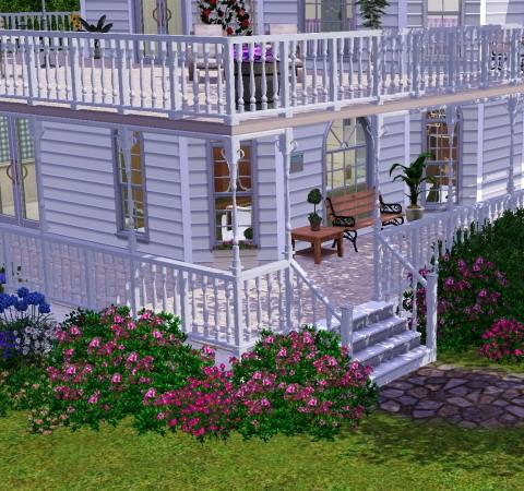 Zaun im schlafzimmer for Modernes haus zaun
